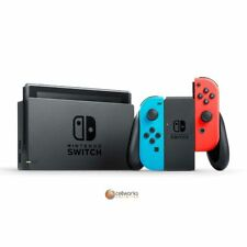 Nintendo Switch Console- Neon Blue and Red Joy-Con