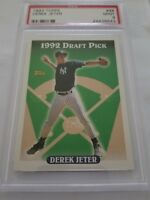 1993 Topps Draft Pick Derek Jeter New York Yankees #98 PSA 9 MINT