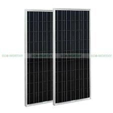 200W 2*100W  Poly Solar Panel for Build Boat Home Camping 12V Battery Off Grid