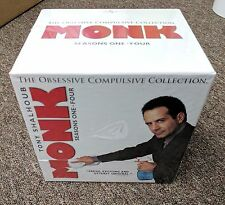 Monk: Obsessive Compulsive Collection Seasons 1-8 (DVD, 2006, 16+Disc Set) - New