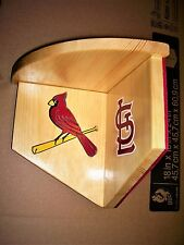 Bobble Heads Cardinals corner shelf for bobbleheads