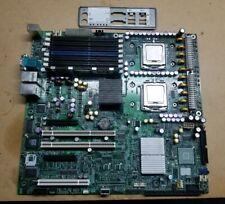INTEL S5000VSA MOTHERBOARD + Dual Intel Xeon 3.0GHz CPU + 1gb RAM + IO shield