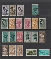 MJL3) Spanish Colonies Collection stamps 1940 to 1961