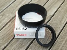New Genuine Canon ES-62 Lens Hood (inc 62L Adapter) -For EF 50mm f1.8 Mk II Lens