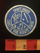 Sports Award Cadette Girl Scouts Senior Patch 817