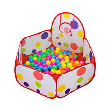 Kinderzelt Bällebad Spielhaus Babyzelt Bälle Bad Kinder Mit Basketballkorb 1M