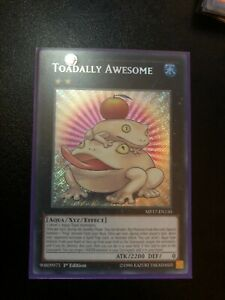 Yugioh x1 Toadally Awesome INOV-EN052 Secret VLP