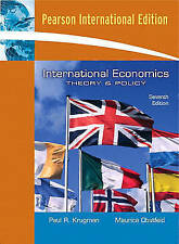 International Economics: Theory and Policy, Krugman, Paul R. & Obstfeld, Maurice