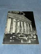 The Bolshoi Ballet 1963 Royal Opera House, London Performance Program Booklet