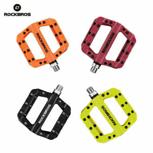 ROCKBROS MTB Widen Nylon Pedals Bicycle Pedal Bearing Mountain Bike Pedals-·