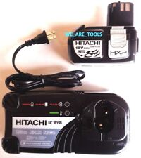 New GENUINE Hitachi (1) EBM1830 18V 3.0 AH Battery,  UC18YRL Charger 18 Volt