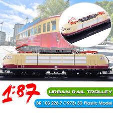 1:87 3D Static Locomotives Model Urban Rail Trolley BR 103 226-7 (1973) Train ❤️