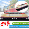 1:87 3D Static Locomotives Model Urban Rail Trolley BR 103 226-7 (1973) Train ❤️