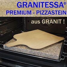 GRANITESSA BROTBACKSTEIN / PIZZASTEIN - aus GRANIT ! - mit BROT- / PIZZASCHIEBER