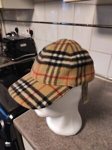 Burberry Nova Check Baseball Cap/Hat