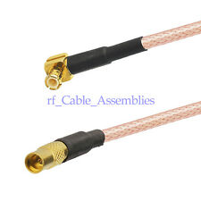 "MCX plug RA to MMCX Female straight pigtail cable RG316 6"" for Ericsson Wireless"