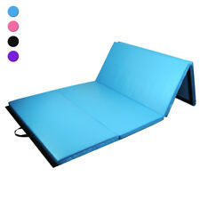 Colchoneta de gimnasia plegable Estera fitness Gym mat para casa 240 x 120x 5 cm