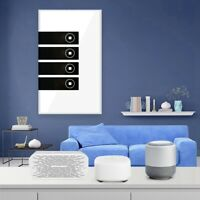 1/3/4 Gang WiFi Smart Wall Touch Light Switch Glass Panel for Alexa/Google APP