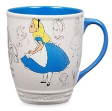DISNEY 16oz CLASSICS COLLECTION COFFEE MUG TEA CUP ALICE IN WONDERLAND ANIMATION