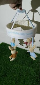 Peter Rabbit hanging Mobile Plays soft plush