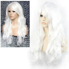 Wiwigs Beautiful Cosplay Snow White Long Layered Way Skin Top Ladies Wig