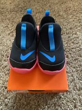NEW - Nike Lil' Swoosh Toddler Shoes - Black/Pink/Blue Size: 8c