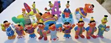 SESAME Street big lot of 16 BERT & ERNIE PVC Figure & other toys