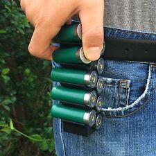 Black MAKERSHOT 12 Gauge GA Shotshell Belt Ammo Carrier (Range Hunting Tactical)
