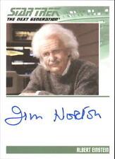 STAR TREK - TNG - COMPLETE SERIES 2 - JIM NORTON as ALBERT EINSTEIN - NNO - AUTO