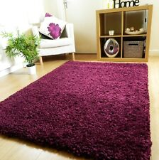 NEW LUXURIOUS THICK CHUNKY PILE RUG SOFT CONTEMPORARY SHAGGY RUGS  MATS UK