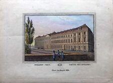 Gravure TRANQUILLO MOLLO Kupferstich,print,1815, Invaliden Haus, l'hotel des inv