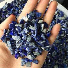 50g Natural Blue Lapis Lazuli Quartz Rhinestone Polished Gravel 7-9mm Specimen