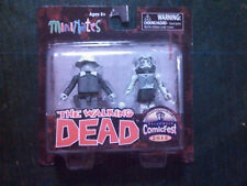 Diamond Walking Dead Minimates Halloween ComicFest 2012 Dale & Female Zombie