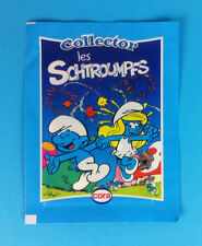 Smurf Collector Sticker Card Pocket hand of 4 cards New collection puffi pitufo