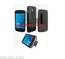 Verizon OEM Shell Holster Combo Case Swivel Clip For Samsung Galaxy Nexus I515