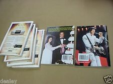 *ELVIS PRESLEY 6 PC LOT, JULY 2004 TV GUIDE - ALL 4, GLOBE DIGEST, PRIVATE LIVE