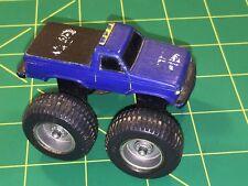 Bigfoot Ford Monster Truck Pickup McDonalds Vtg 80's Plastic Toy Blue Land Train