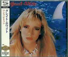 GREAT WHITE ONCE BITTEN SHM CD - 2015 JAPAN RMST -  Jack Russell - GIFT PERFECT!