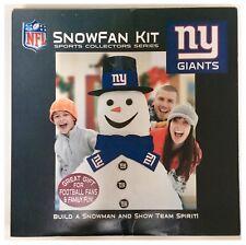 New York Giants NFL American Football Christmas Build A Snowman Kit