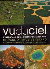 COFFRET 4 DVD VU DU CIEL - INTEGRALE 4 PREMIERES EMISSIONS - Y.ARTHUS-BERTRAND