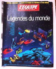 L'Equipe Magazine du 25/4/1998; Spécial Coupe du monde