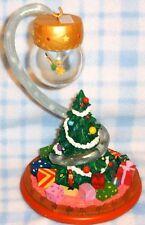 New Disney Peter Pan's Tinkerbell Fairy Christmas Tree Snowglobe Ornament