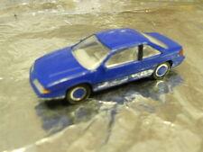 ** Herpa 022002 Pontiac Grand Prix Blue. 1:87 Scale
