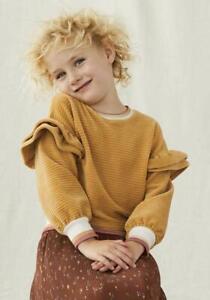 Matilda Jane Just Imagine JoJo Girls Ribbed Velour Sweatshirt Size 14 NWT