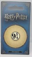 New Official Genuine Warner Brothers Harry Potter 'Platform 9 3/4' Pin Badge