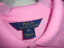 POLO RALPH LAUREN  PINK (CHILD) DESIGNER DRESS   M    (8-10)