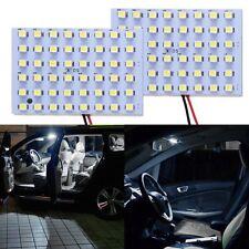 48 SMD auto Dome pannello LED lampadina adattatore T10 BA9S Luci interne 2pcs
