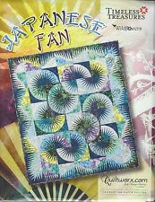 Japanese Fan Foundation Paper Piecing Quilting pattern by Judy Niemeyer