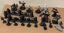 Warhammer plastic Dwarf Kharadron Slayer goblin prisoner fence marker bit lot +