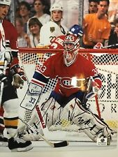 PATRICK ROY Montreal Canadiens pose Signed Autographed 8x10 Photo NHL COA